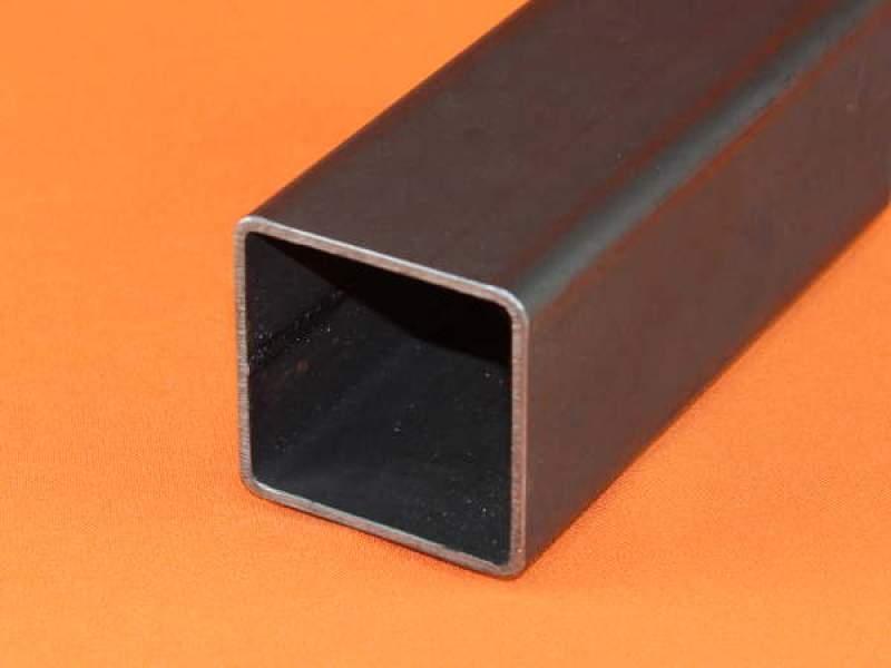 200cm Quadratrohr 40x40x4mm Stahlrohr Vierkantrohr Rohr Hohlprofil S235 St37